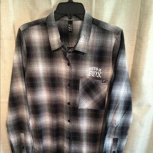 Fox Moto X Flannel Shirt
